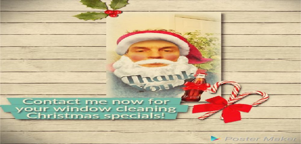 window cleaning wolverhampton home clean Father Christmas