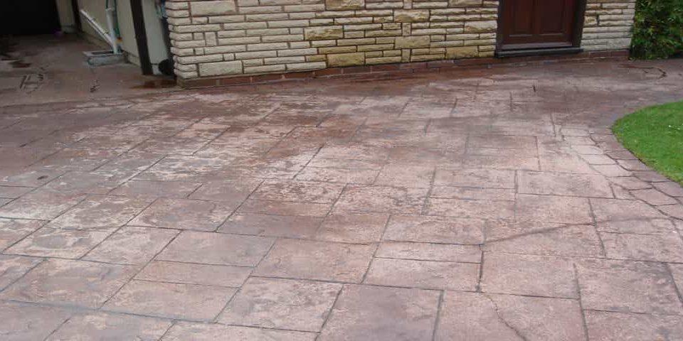 Pattern Imprinted Concrete Repairs
