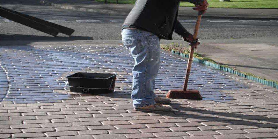 Pattern imprinted concrete sealing Wolverhampton